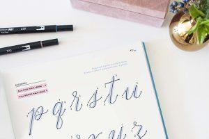 El Amante Volador - Libro Brush Pen Lettering. Ductus.
