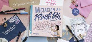 El Amante Volador - Libro Brush Pen Lettering.
